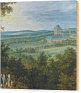 The Archdukes Hunting Wood Print