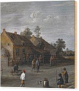 The Archers Wood Print