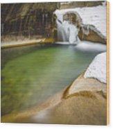 The Basin Wood Print
