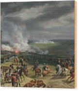 The Battle Of Valmy Wood Print