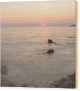 The Beautiful Istrian Coastline Wood Print