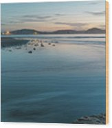 The Blues - Daybreak Seascape Wood Print