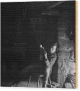 The Boyhood Of Lincoln Wood Print