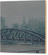 The Bridge On The River Kwai Wood Print