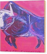The Bull Spring 2005 Wood Print