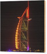The Burj Al Arab Wood Print
