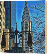 The Chrysler Building Wood Print