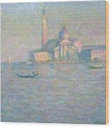 The Church Of San Giorgio Maggiore Wood Print