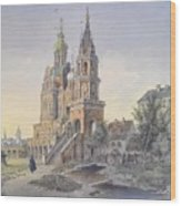 The Church Of The Dormition Wood Print