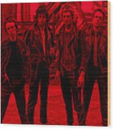 The Clash Collection Wood Print