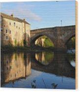 The County Bridge Wood Print