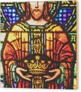 The Crown Wood Print
