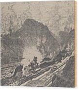 The Cut From Culebra Wood Print