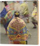 Pow Wow The Dance 4 Wood Print