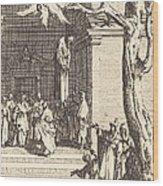 The Death Of Judas Wood Print