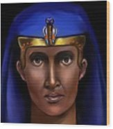 Egyptian Pharaoh Wood Print