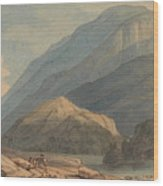 The Entrance Into Borrowdale Wood Print
