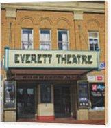 The Everett Wood Print