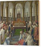 The Exhumation Of Saint Hubert Wood Print