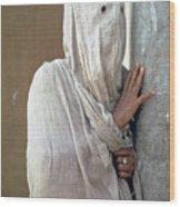 The Faceless Woman Wood Print