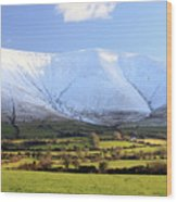 The Galtees  Ireland's Tallest Inland Mountains Wood Print