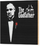 The Godfather Wood Print