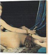 The Grand Odalisque Wood Print