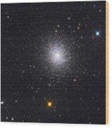 The Great Globular Cluster In Hercules Wood Print