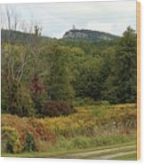 The Gunks Wood Print