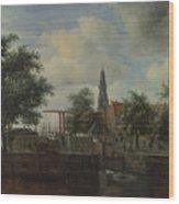 The Haarlem Lock Amsterdam Wood Print