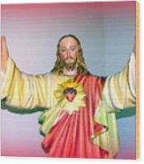The Hands Of Christ Wood Print