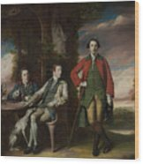 The Honorable Henry Fane With Inigo Jones And Charles Blair Wood Print