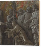 The Introduction Of The Cult Of Cybele At Rome Wood Print