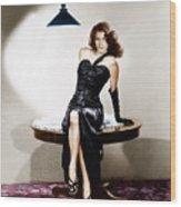 The Killers, Ava Gardner, 1946 Wood Print