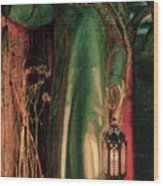 The Light Of The World Wood Print by William Holman Hunt
