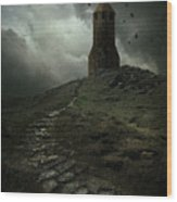 The Lost Tower Wood Print