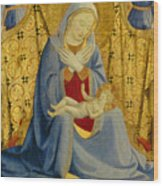 The Madonna Of Humility Wood Print