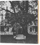 The Main House Wood Print