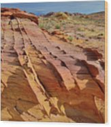 The Many Colors Of Valley Of Fire Wood Print
