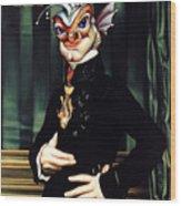 The Marquis De Piscatorum Wood Print
