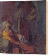 The Messenger Wood Print