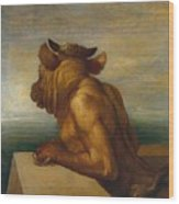 The Minotaur Wood Print