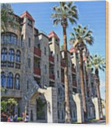 The Mission Inn  Wood Print
