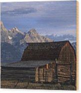 The Molton Barn Wood Print