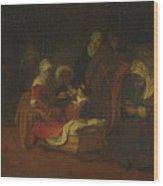 The Naming Of Saint John The Baptist Wood Print