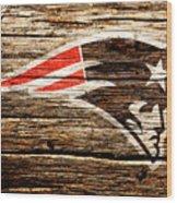 The New England Patriots 3a Wood Print