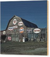 The Nostalgia Barn Wood Print