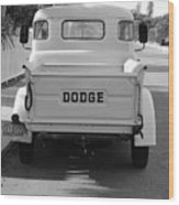 The Old Dodge  Wood Print