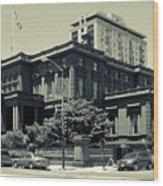The Pacific - Union Club Wood Print
