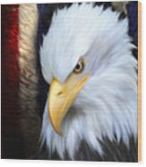 The Patriot Wood Print